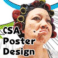 CSA poster design